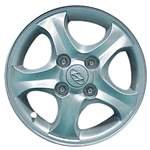 Aluminum Alloy Wheel, Rim 15x6 - 70686