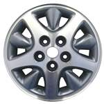 Aluminum Alloy Wheel, Rim 15x6.5 - 2071