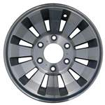 Aluminum Alloy Wheel, Rim 15x7 - 1190