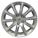 Aluminum Alloy Wheel, Rim 17x6.5 - 72702