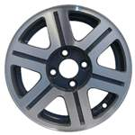 Aluminum Alloy Wheel, Rim 14x5.5 - 60149