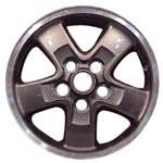 Aluminum Alloy Wheel, Rim 16x8 - 72155