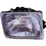 Passenger Side, Halogen Type, Sealed Beam Type Head Lamp Assembly - FO2501127