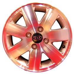 Aluminum Alloy Wheel, Rim 14x5.5 - 74556